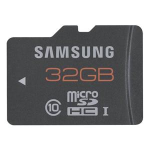 Carte Mémoire Samsung 32 Go Plus MicroSDHC Classe 10