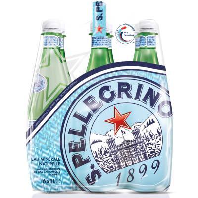 Sélections de produits en promotion - Ex : Pack de 6x1L d'eau pétillante San Pellegrino (via carte fidélité +BDR +Quoty) Gratuit