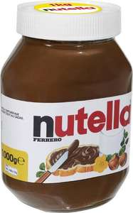 Pot de Nutella Ferrero de 1 kg (via 2.43€ sur la carte)