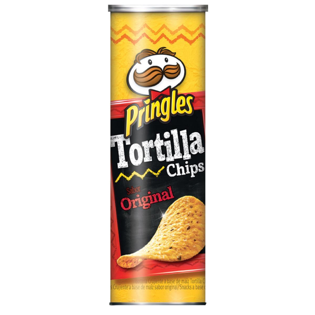 Pringles Tortilla Chips (via 40% sur la carte + Coupon Network)