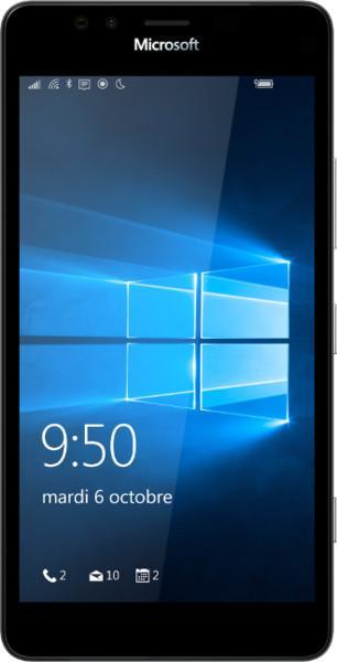 "Smartphone 5.2"" Microsoft Lumia 950 Noir - Double SIM, ROM 32 Go, RAM 3 Go"