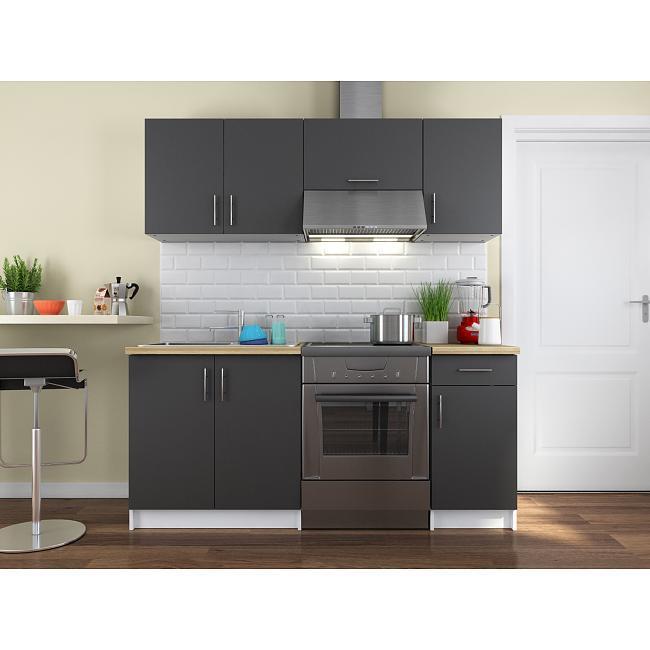 Cuisine complète Home Deco Valerio 180 cm - Plusieurs coloris