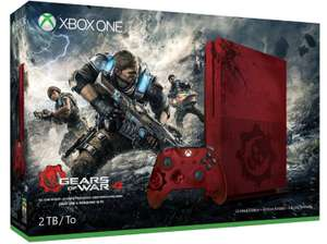 Pack Console Xbox One S 2 To - Edition limitée Gears of War + Gears Of War 4
