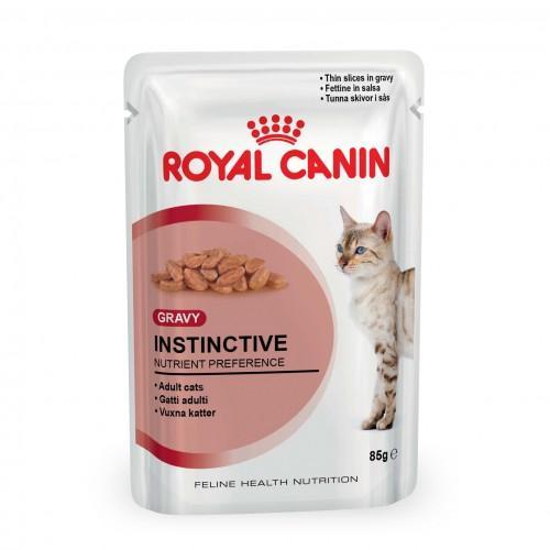 2 lots de 12 gelées pour chat Royal Canin Instinctive (85g)