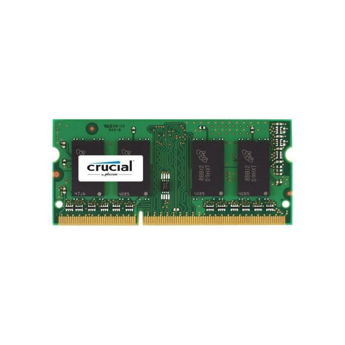 Mémoire RAM Crucial 16 Go - DDR3L-1600 SODIMM