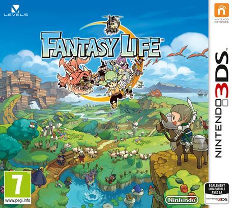 Sélection de jeux 3DS (Fantasy Life, Little Battlers eXperience, Code Name S.T.E.A.M.)