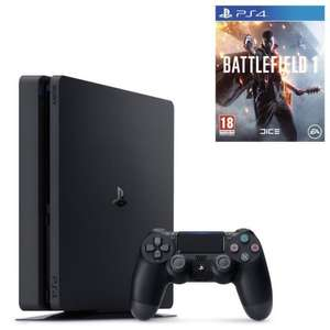 Console Sony PS4 Slim Noire 500 Go + Battlefield 1