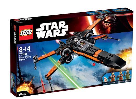 Lego Star Wars - Poe's X-Wing Fighter 75102 (avec 20€ sur la carte)
