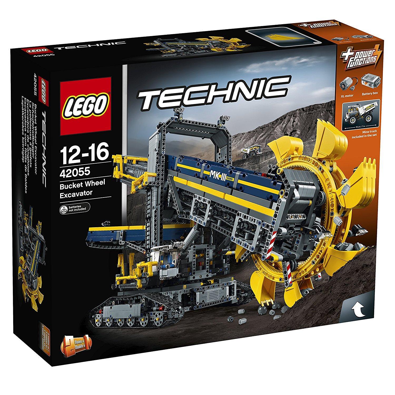 Lego 42055: La pelleteuse à godets