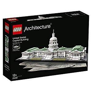 Jouet Lego Architecture 21030 : Le Capitole des États-Unis