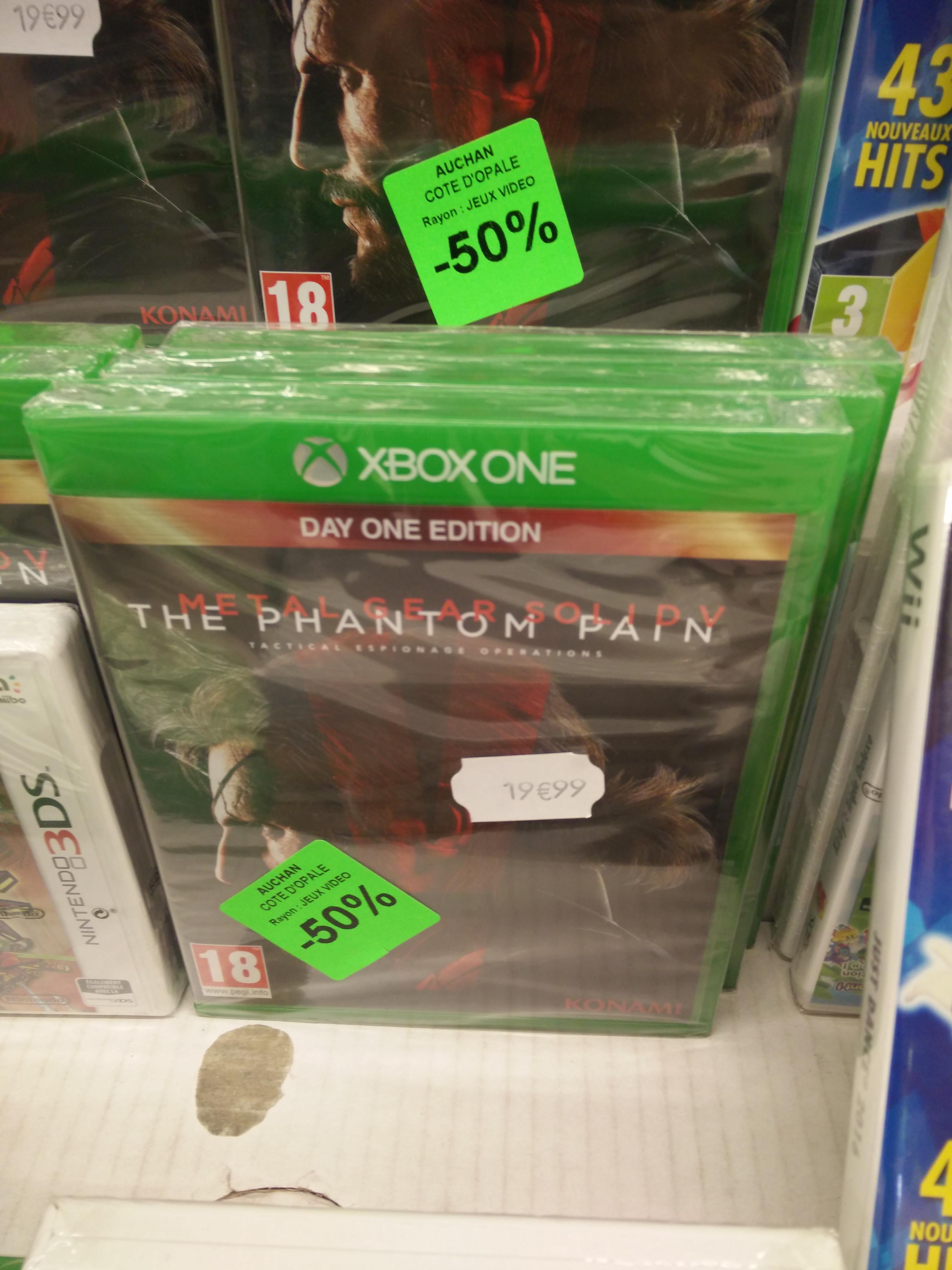 Sélection de jeux vidéo en promotion - Ex : Metal Gear Solid V: The Phantom Pain (édition Day One) sur Xbox One