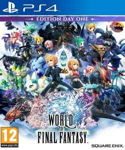 [Précommande] World of Final Fantasy Edition Day One sur PS4