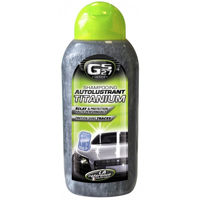 Shampoing auto-lustrant GS27 Titanium pour auto - 500 ml