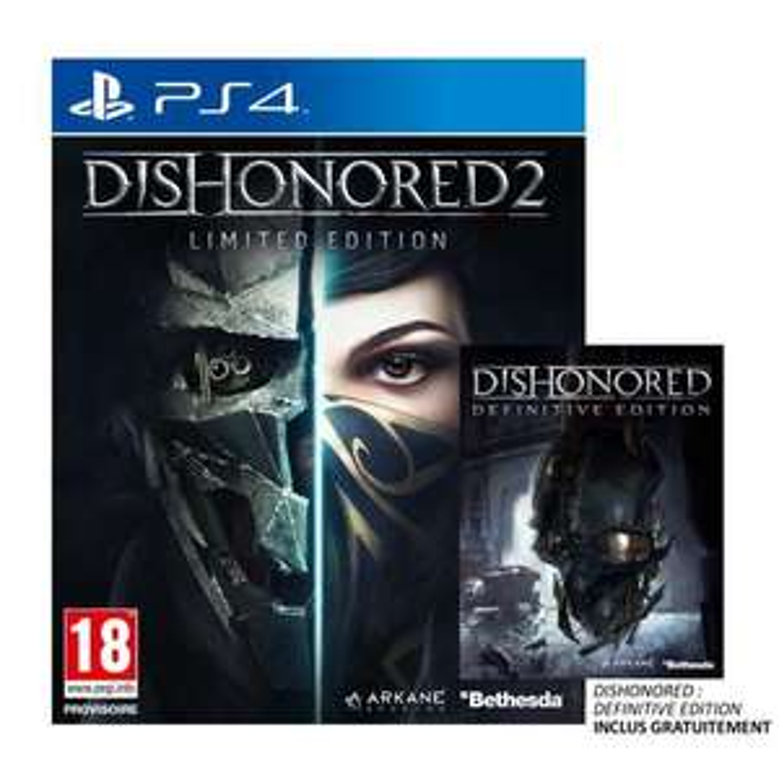 [Précommande] Dishonored 2 - Édition Limitée + Dishonored - Definitive Edition sur PS4 / Xbox One