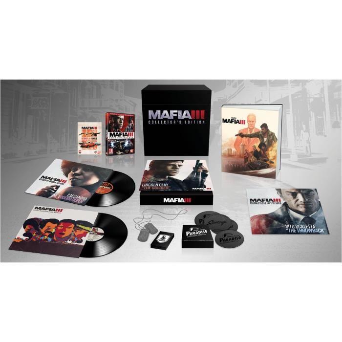 [Fnac+] Jeu Mafia 3 sur PS4 - Edition collector + T-shirt