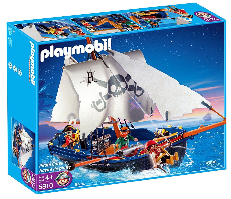 Bateau corsaire Playmobil n° 5810