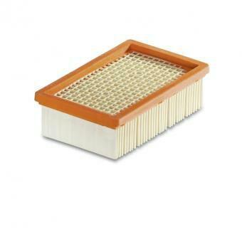 Filtre plissé plat pour Kärcher WD 4, WD 5, WD 6