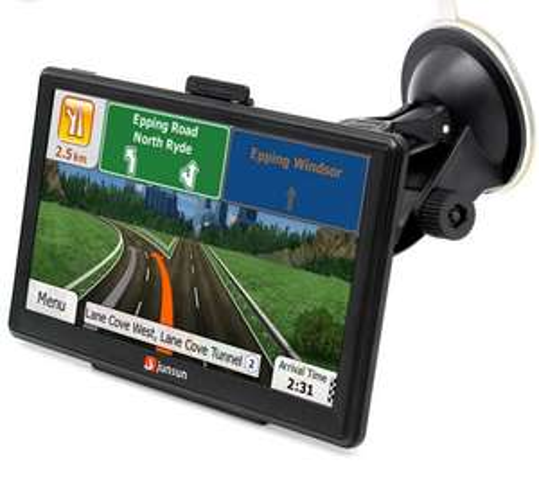 "GPS "" Junsun - 8 Go, 2566Mo, Carte Europe"
