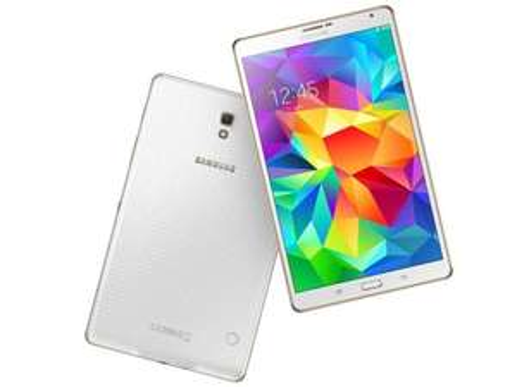 "Tablette 8.4"" Samsung Tab S T705 - Blanc, 16 Go, LTE 4G (Reconditionnée)"