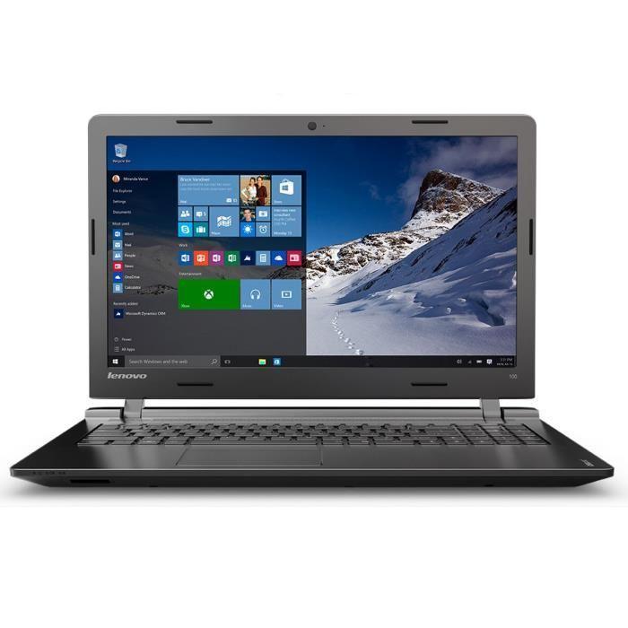 "PC portable 15.6"" Lenovo IdeaPad 100-15IBD (i3-5005U, GeForce GT920M, 4 Go de RAM, 1 To)"