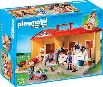 Jouet Playmobil Écurie transportable - 5348 (via 5.18€ sur la carte de fidélité)