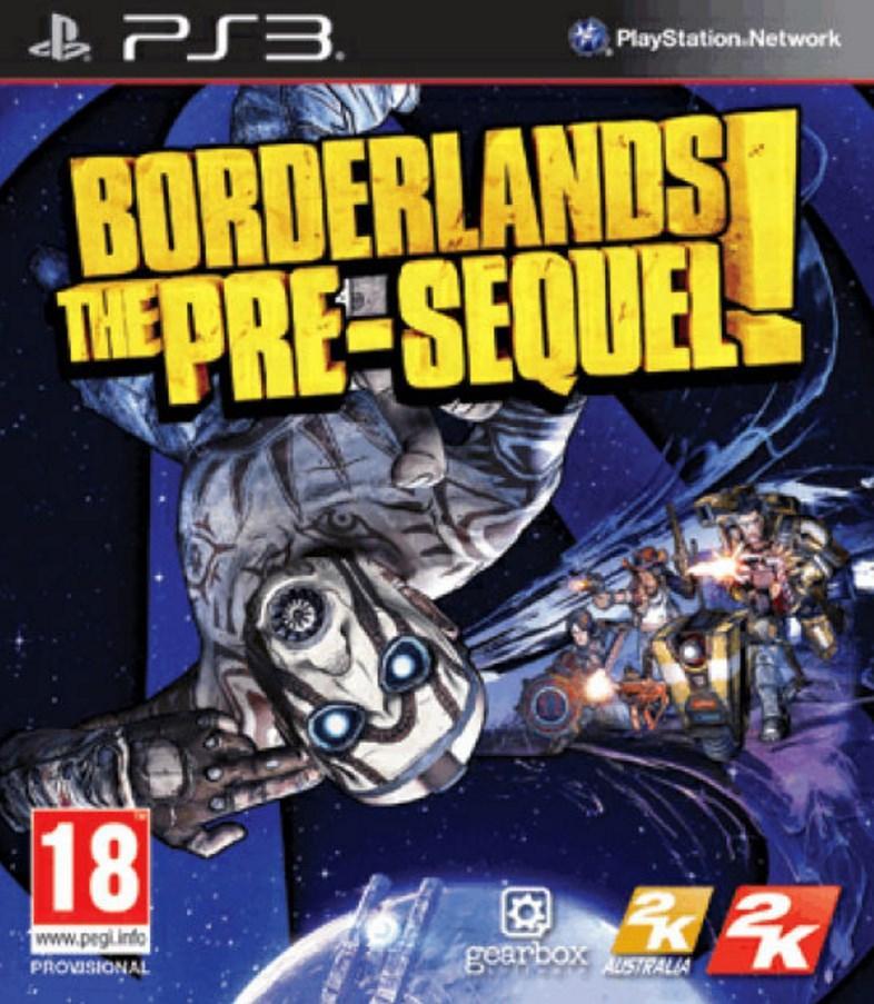 Jeu Borderlands: The Pre-Sequel! sur PS3
