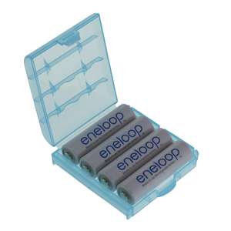 Lot de 4 piles Panasonic Eneloop AA - 2000 mAh
