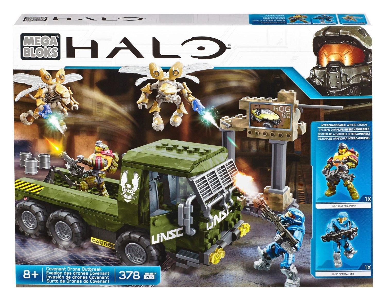 Jeu De Construction Mega Bloks Halo Cnd03 - Evasion des drones Covenant