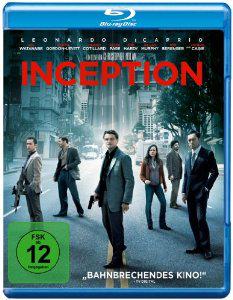 Inception - Bluray (Jaquette en Allemand mais piste française)