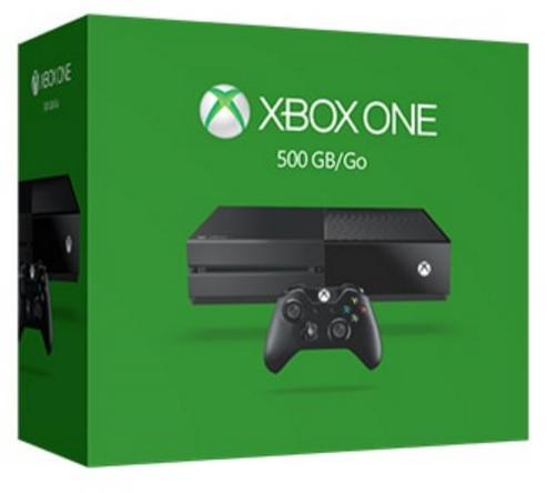 Console Microsoft Xbox One 500 Go + Gear of War 4 + Killer Instinct + Screamride + Sunset Overdrive