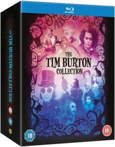 Coffret Tim Burton Collection : 8 films en Blu-ray
