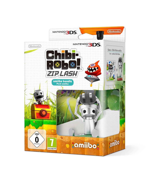 Jeu Chibi-Robo! Zip Lash sur 3DS + amiibo Chibi-Robo