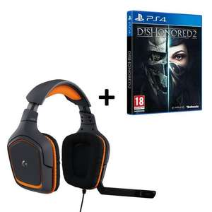 [Précommande] Sélection de packs Dishonored 2 + Casque (Steelseries, Logitech, etc) - Ex : Logitech G231 Prodigy + Dishonored 2 Limited Edition sur PS4 ou Xbox One