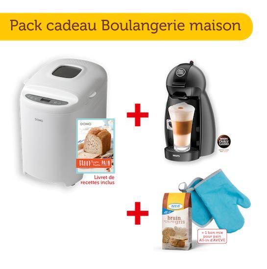 Pack cadeau Boulangerie Maison Aveve