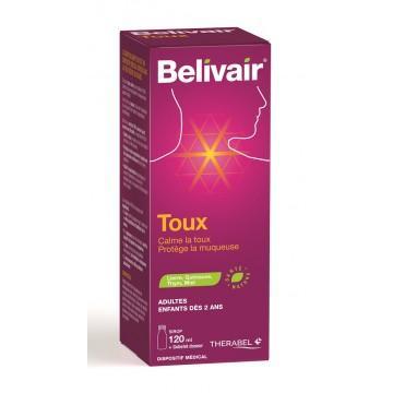 Sirop pour la toux Belivair 120ml + Gobelet doseur (Frais de port compris)