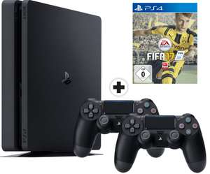 Console Sony PS4 Slim 1To + FIFA17 + 2ème Manette