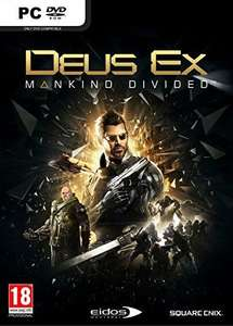Deus Ex Mankind Divided - Day One Edition sur PC