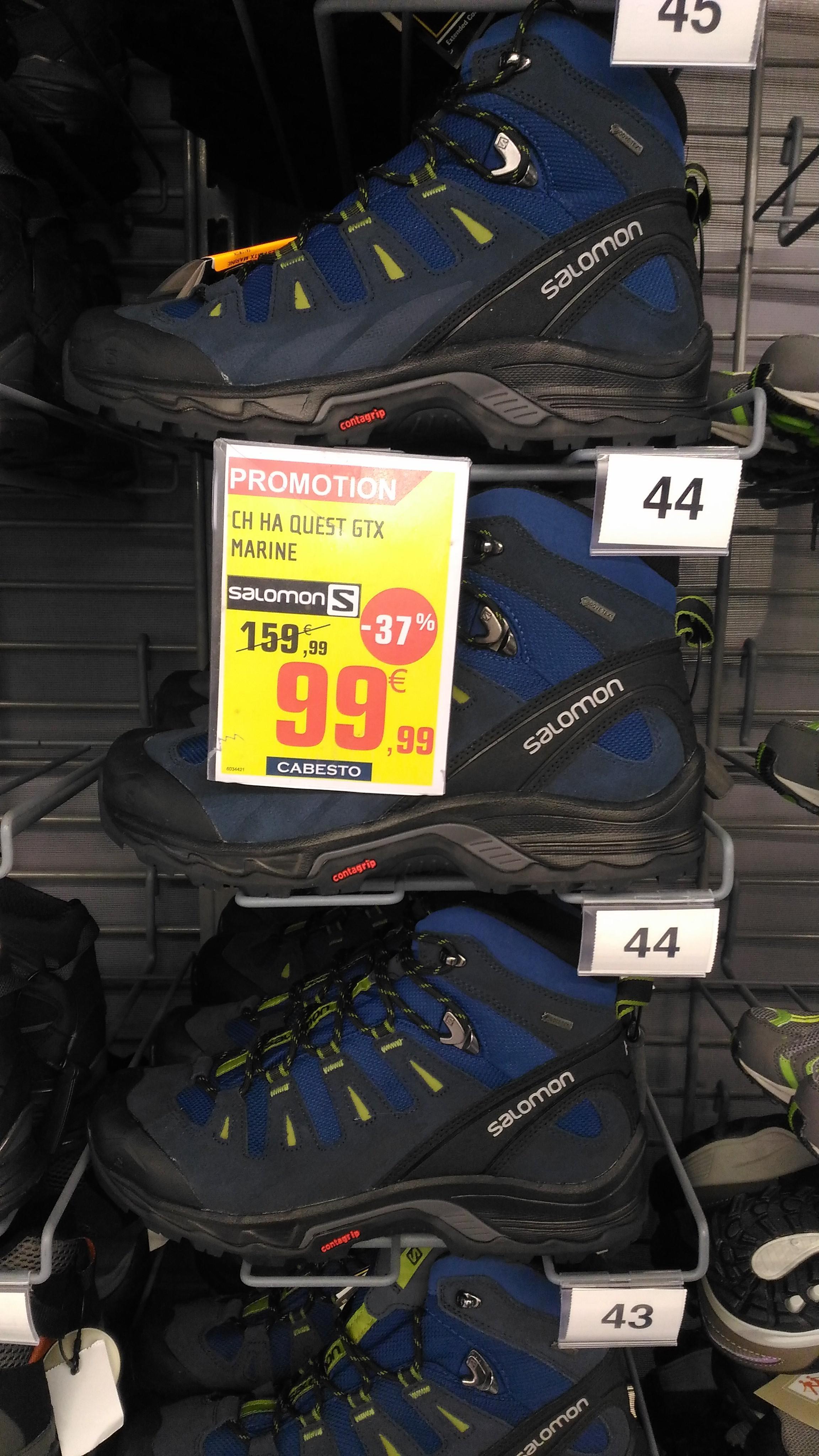 Chaussures de randonnée Salomon Quest GTX