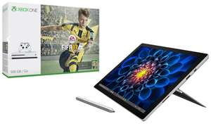 "Tablette 12.3"" Microsoft Surface Pro 4 - i5, RAM 8Go, SSD 256Go + Pack Console Xbox One S - 500Go + FIFA 17"