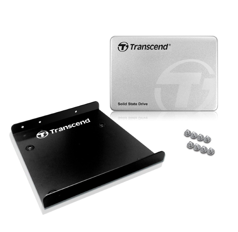 """Sélection de SSD internes 2.5"""" Transcend en promotion - Ex: 256 Go (Mémoire MLC)"""