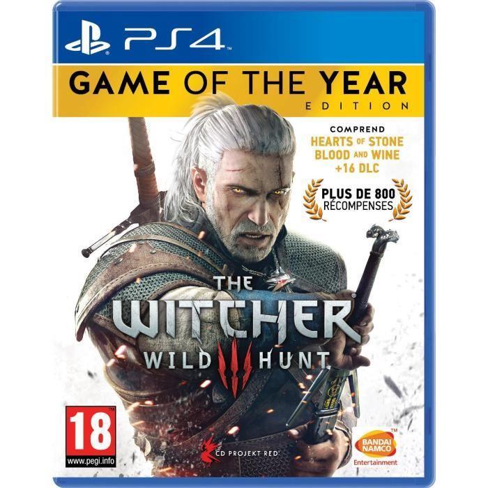 [CDAV] The Witcher 3 Wild Hunt - Edition GOTY sur PS4