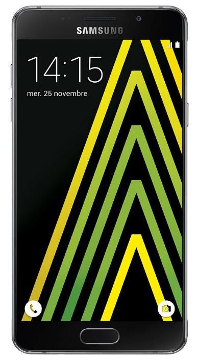 "Smartphone 5,2"" Samsung Galaxy A5 2016 - 16 Go, Noir"