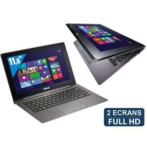 Ultrabook 11,6'' Asus Taichi 21-CW003H - Convertible en tablette tactile - 2 écrans Full HD