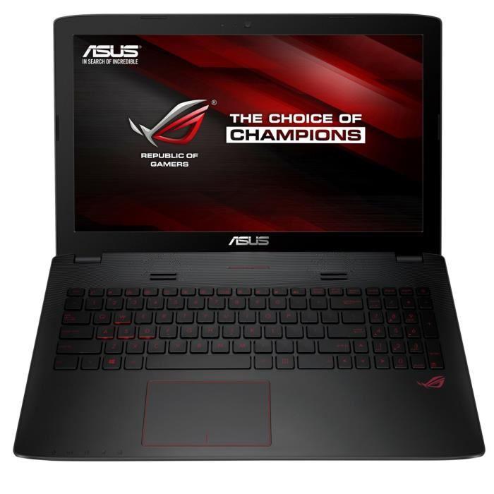 "PC Portable Gamer 15.6"" Asus ROG G552VL-CN003T - i7-6700HQ, RAM 8 Go, HDD 1 To + SSD 128 Go, GTX 965M (+ 200€ en 1 bon d'achat)"