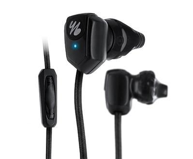 Écouteurs intra-auriculaires Yurbuds Powered By JBL pour le Sport - Noir