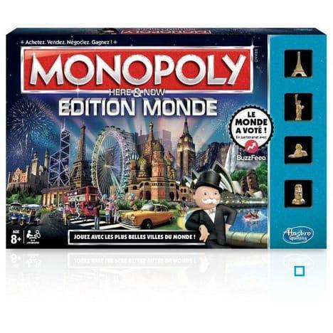Jeu de société Monopoly - Edition Monde