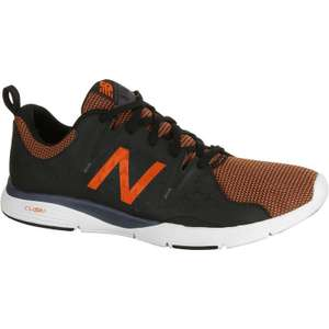 Chaussures marche active homme New Balance MX 818 - Noir/Orange