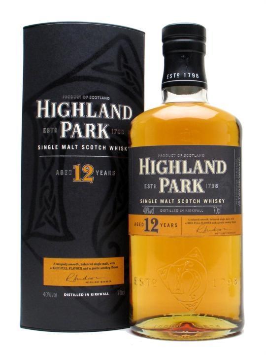 Selection de whisky en promotion - Ex : Scotch Whisky Single Malt Highland Park 70cl
