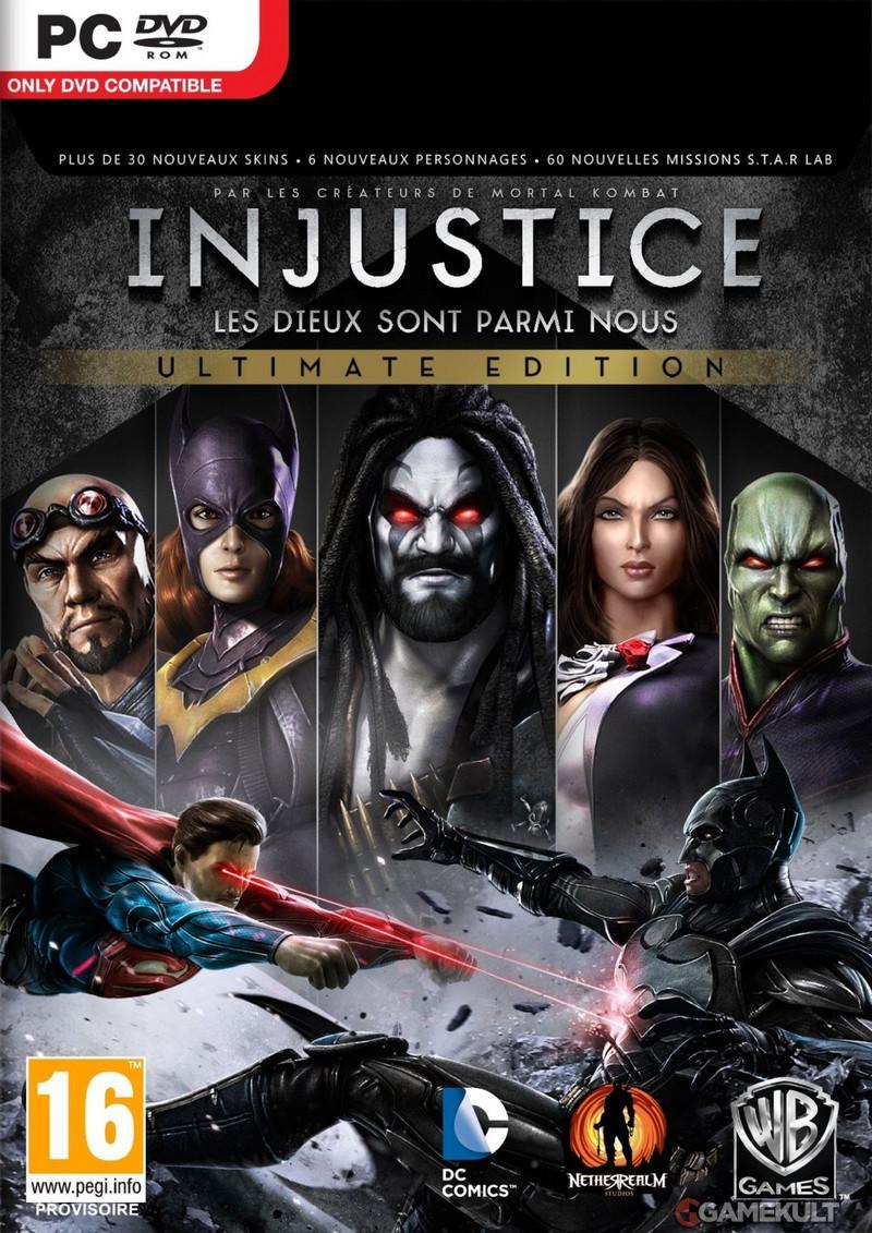 Sélection de jeux vidéo sur PC en promotion - Ex : Injustice : Les dieux sont parmi nous (Ultimate Edition)