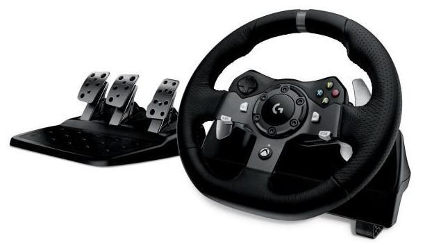 Volant de course Logitech G920 Driving Force - Xbox One et PC